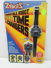 Zybots Remco CONVERTIBLE ROBOT TIME CHANGERS WATCH Action figure Wristwatch 1984