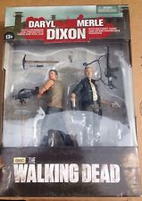 "MCFARLANE TOYS: WALKING DEAD Series 4 THE DIXON BROTHERS 2-PACK 5"" FIGURES MIB"