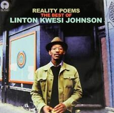 LINTON KWESI JOHNSON - REALITY POEMS: THE BEST OF CD ALBUM (March 31st 2014)