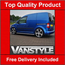 VW CADDY SWB SIDE BARS 2004 ON SIDE STEP POLISHED QUALITY STAINLESS STEEL CHROME