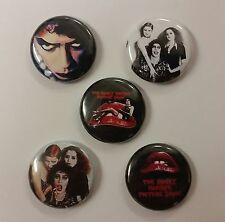 "5 1"" Rocky Horror Picture Show Time warp pinback badges buttons"