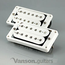 NEW Vanson '59 Alnico V PAF style Humbucker Set for Gibson ®, Epiphone ®* WHITE