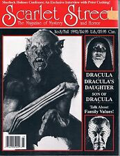 Scarlet Street #8 1992 Vampires Vampires & Vampires and more Vampires with Vamps