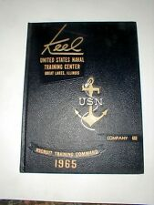Company 633 Great Lakes US Naval Training Yearbook 1965