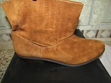 NEW JOE'S JEANS TAN ANKLE BOOTS BOOTIES SUEDE WOMENS 8.5 STYLE: STAR II SUEDE