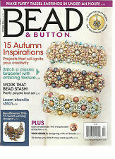 BEAD & BUTTON MAGAZINE,   OCTOBER, 2016   ISSUE, 135   15 AUTUMN INSPIRATIONS
