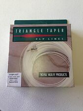 *50% OFF* Royal Wulff Triangle Taper Spey Fly Line 9 Weight Sink Tip 80 Ft