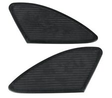 Ribbed Black Rubber Pair KNEE PAD INSERTS FOR LEGACY SPORTSTER GAS TANKS