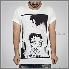 THE CURE Robert Smith BETTY BOOP Goth Vintage Punk Rock T-Shirt S SMALL