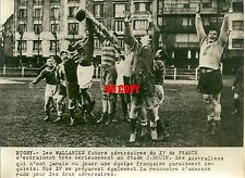 Photo de presse Photo rugby 1948 the Wallabies Stade Jean Bouin sport