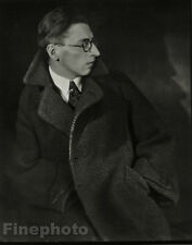 "1925/78 JOSEF SUDEK Vintage Czech Photo Gravure ~ Male Portrait ""Funke"" FINE ART"