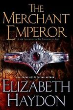 THE MERCHANT EMPEROR (The Symphony of Ages) Elizabeth Haydon (2014 Hardcover,DJ)