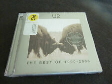 U2 THE BEST OF 1990-2000 ULTRA RARE NEW ZEALAND SEALED DOUBLE CD PACK!