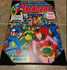 "The Avengers (Squadron Sinister) Wall Plaque (Marvel Comic Print, 13""x19"") #147"