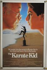 THE KARATE KID ROLLED ORIG 1SH MOVIE POSTER RALPH MACCHIO PAT MORITA (1984)