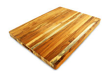 Terra Teak Extra Large Cutting Board - 24 x 18 x 1.5 Inch