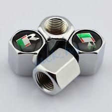 For Jaguar Metal Wheel Stem Rims Tire Valve Caps Dust Cover Car Accessories