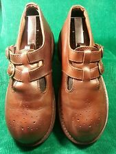 """Vintage American Eagle Outfitters Mary Janes Womens Shoes 9M """"Must See Soles!"""""""