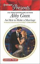 An Heir to Make a Marriage (One Night With Consequences)-ExLibrary