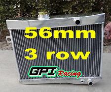 aluminum radiator FOR Volvo Amazon P1800 B18 B20 engine GT M/T 1959-1970 60