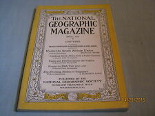 ANTIQUE NATIONAL GEOGRAPHIC April 1931 SOUTH AFRICAN UNION Fire-Walking Hindus
