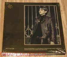 EXO EXODUS KOREAN VERSION 2ND ALBUM BAEKHYUN CD +PHOTOCARD + POSTER IN TUBE CASE