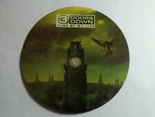 3 DOORS DOWN TIME OF MY LIFE CLOCK TOWER  4x4 MUSIC STICKER