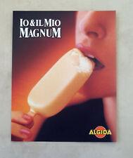 E641 - Advertising Pubblicità -1995- MAGNUM ALGIDA GELATO