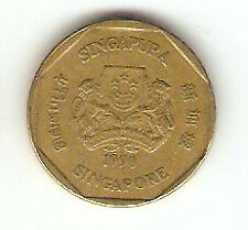 Offer Singapore  one dollar  1990  coin  high grade! ??
