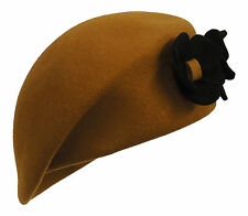 New Ladies Vintage style 1930s 40s WW2 Wartime Felt Flower Beret Cloche Hat