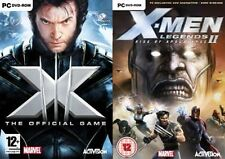 x-men the official game & x men legends 2 rise of apocalypse
