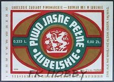 Poland Brewery Lublin Lubelskie Beer Label Bieretikett Etiqueta Cerveza lu41.1