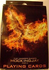 NEW The Hunger Games: Mockingjay Hunger Games Playing Cards Deck by Districts