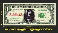 JUDAS PRIEST IMAN BILLETE 1 DOLLAR BILL MAGNET