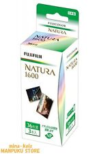 FUJIFILM Natura 1600 35mm Color film 36 Exps 3 Rolls from JAPAN F/S tracking