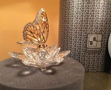 "EXTREMELY RARE Swarovski ""Gold Butterfly"" 7551NR100  Mint in box"