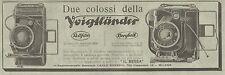 Y2014 Voigtlander - Rollfilm - Bergheil - Pubblicità del 1931 - Old advertising