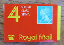 GB Machin 1990 Double Head Booklet JA1 - 4 x 15p Walsall NEW SALE PRICE FP3457