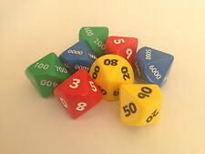 Jumbo Place Value Dice – Set of 8 - Numeracy Maths Resource D044