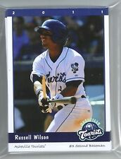 COMPLETE 2011 ASHEVILLE TOURISTS TEAM SET MINORS RUSSELL WILSON QB BACK IN STOCK