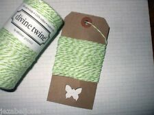 10mt Green Apple' DIVINE BAKERS TWINE   Packaging Parties Embellishment