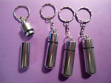 4 ~ PILL CASE CONTAINER  KEY CHAINS