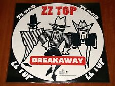 "ZZ TOP BREAKAWAY MARY'S 12"" PICTURE DISC VINYL *RARE* RCA PRESS 1994 LIMITED EU"