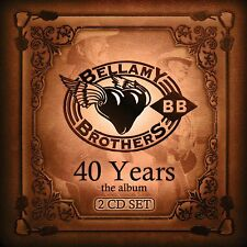 BELLAMY BROTHERS - 40 YEARS: THE ALBUM (CD) Sealed