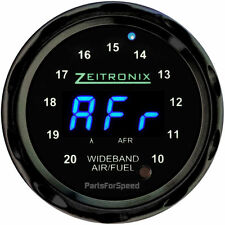 Zeitronix ZR-1 Air Fuel Ratio Gauge Wideband Black / Blue LED
