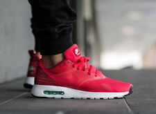 NIKE AIR MAX tavas RUNNING sneakers palestra casual-UK taglia 10 (eur 45) Rosso