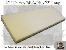 "1/2"" x 24""x 72"" Dry Fast Reticulated Foam Sheets"