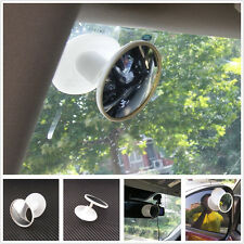 Wide Angle White Adjustable Auto Interior Blind Spot Rearview Mirror For Toyota