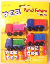 TRUCKS Party Favors PEZ Set of 4 (on 1 card) 2000 Mint on card