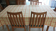 New Hand Made Large Tablecloth 136cmx192cm Yellow & Orange Country Style